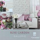papel pintado rose garden