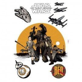 Sticker star wars marvel pixar disney ref. s-14025-h-resistance