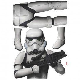Sticker star wars marvel pixar disney ref. s-14722-h-star-wars-stormtrooper