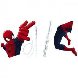 Sticker star wars marvel pixar disney ref. s-16400-spiderman