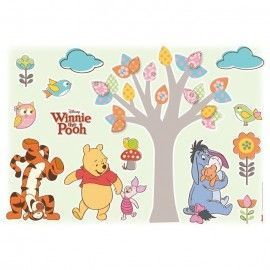Sticker star wars marvel pixar disney ref. s-14014-h-winnie-pooh-nature-lovers
