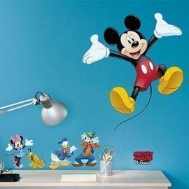 Sticker star wars marvel pixar disney ref. s-14017-h-mickey-and-friends