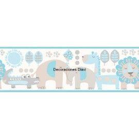 Cenefa Papel Pintado Carousel Ref. C-DLB50075