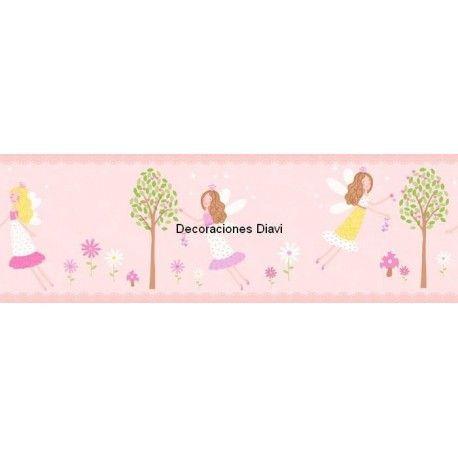 Cenefa papel pintado carousel ref c dlb50083 - Cenefas papel pintado ...