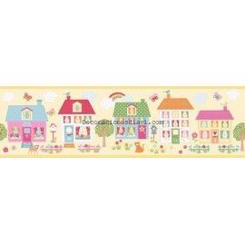 Cenefa papel pintado coconet ref. c-573-2