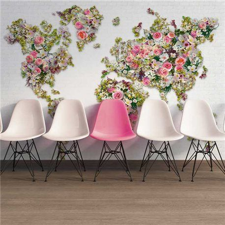 Mural Urban Flowers Ref. M-472-808