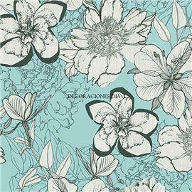 Papel Pintado Urban Flowers Ref. 32798-3