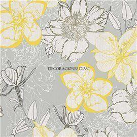 Papel Pintado Urban Flowers Ref. 32798-2