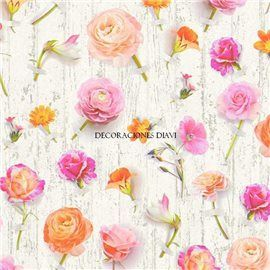 Papel Pintado Urban Flowers Ref. 32723-1