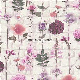 Papel Pintado Urban Flowers Ref. 32725-1
