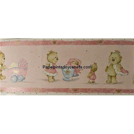 Cenefa papel pintado cenefas col ref c 122541 - Cenefas papel pintado ...