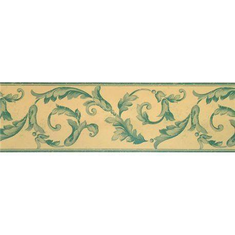 Cenefa papel pintado cenefas col ref c 92386 - Cenefas de papel pintado ...