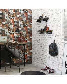 Papel Pintado Funny Walls 3 Ref. 247-3602