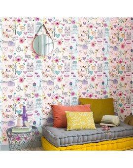 Papel Pintado Funny Walls 3 Ref. 247-3606