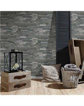 Papel Pintado Wood'n Stone Ref. 35582-4