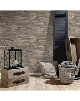 Papel Pintado Wood'n Stone Ref. 35582-2