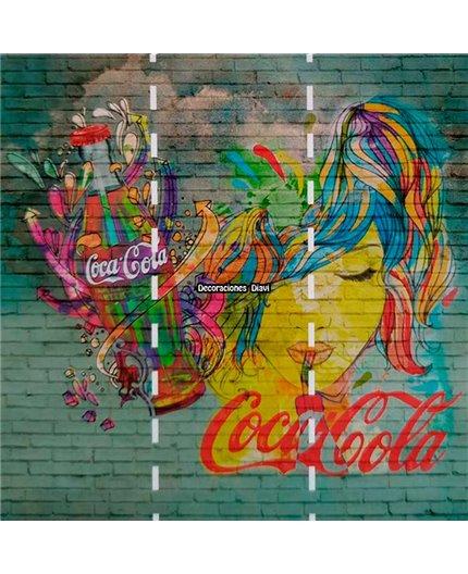 Mural Coca Cola Ref. M-192-Z41273