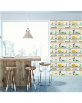 Papel Pintado Fresh Kitchens VI Ref. 1210-3876