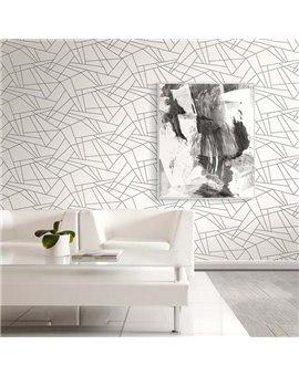Papel Pintado Graphite - Casa Mia Ref. RM90718.