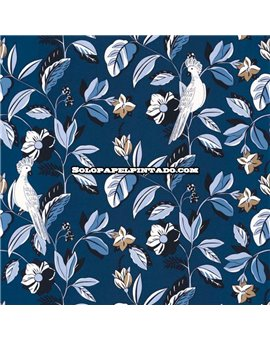 Papel Pintado Only Blue Ref. ONB-102626220.