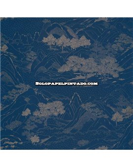 Papel Pintado Only Blue Ref. ONB-102646290.