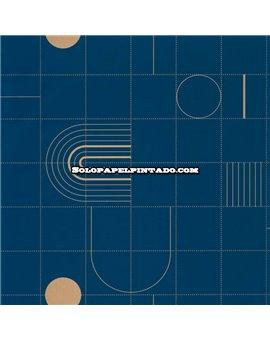 Papel Pintado Only Blue Ref. ONB-102706221.