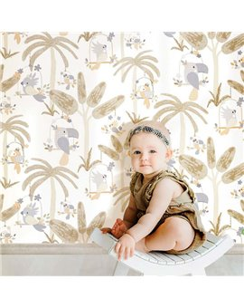 Papel Pintado Baby Love Ref. 1613009.